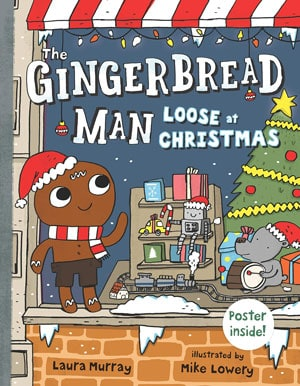 Gingerbread Man Loose at Christmas book cover