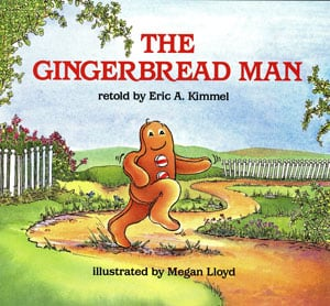 The Gingerbread Man by Kimmel cover