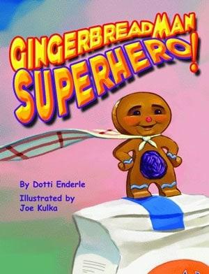 Gingerbread Man Superhero book cover