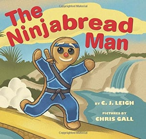 The Ninjabread Man by Leigh book cove