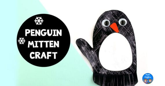 penguin mitten craft