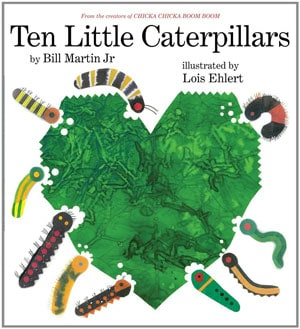 Ten Little Caterpillars cover