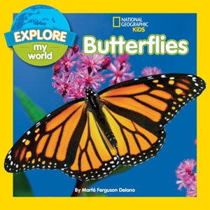 National Geographic Kids book on butterflies