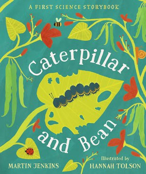 Caterpillar and Bean book cover