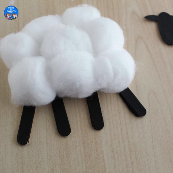 partly assembled sheep craft