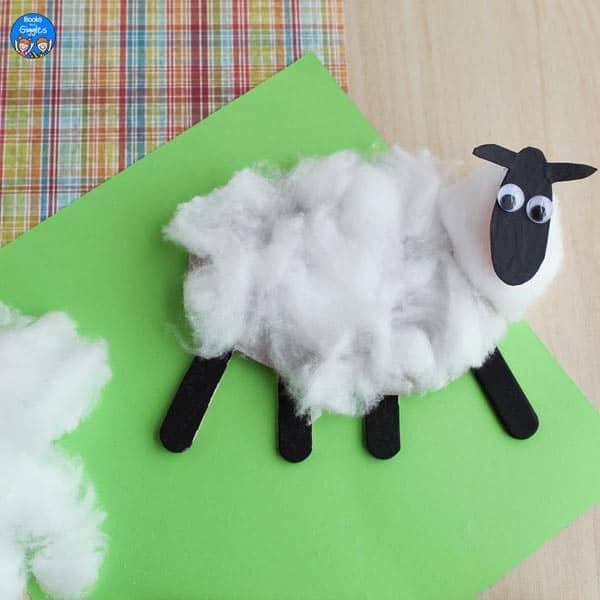 shorn sheep craft
