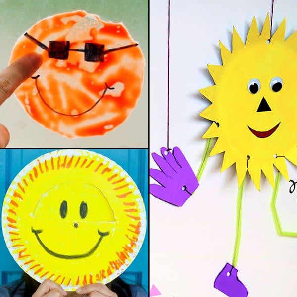 interactive sun crafts